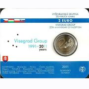 Slovakia Commemorative Coin Special Coins 2011 St Visegrad Group In Coincard