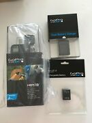 Gopro Hero 3 Black Edition Camera With Dual Battery Charger And Battery