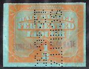 Beer Stamp 1933 Rea156a Provisional Surcharge 6.00 Rate Schlitz 12 6 33 Sound