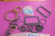 Assortment Of Misc. Volvo Penta Seals And O-rings. Gathered From Partial Kits