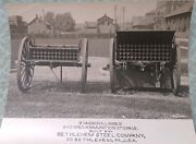 3 Caisson And Limber Photo Wwi Era Bethlehem Steel Co Direct From Co. Files
