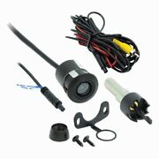 Bullet Camera Small For Automobile Safety. Flush Mount Kit With Hole Saw