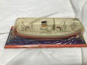 Vintage Lehmann Wind Up Toy Boat, Cruise Ship Fortuna Be.908