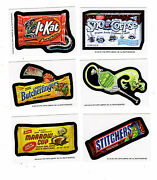 2 2013 Wacky Packages Halloween Butcherfingers And Stitchers Postcard Bio Cards