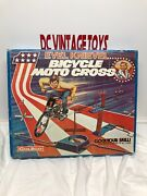 Vintage 1975 Coleco Evel Knievel Bicycle Moto Cross Factory Sealed Scarce Look