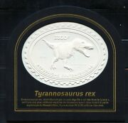 Central Africa 2018 Tyrannosaurus Rex Embossed Stamp Mint Nh