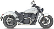Two Brothers Racing 005-4610199 2-into-1 Exhaust For Indian And Victory