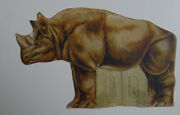 1900's E-unc National Candy Co. The African Series Rhinoceros