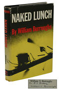 Naked Lunch Signed By William S. Burroughs First Edition 1st Printing 1959