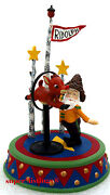 Dept. 56 Star Of The Show North Pole Woods Retired 2002 56928 New In Box