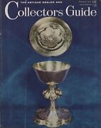 Antique Dealer And Collectors Guide February 1964 English Church Plate - Tokens