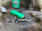 1974 75th Annv. A G Russell Luger Knife Stag Handles Box Mint Sn 2353