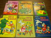 15 Walt Disney Lot 8 Dell Gold Key Donald Duck Uncle Scrooge Comics And Stories