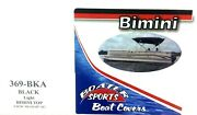 Boater Sports Black Bimini Top 369bka Frame And Boot Sold Separately