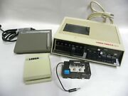 Vintage Lanier Edisette Model 1977 Dictation Machine With Accessories A10