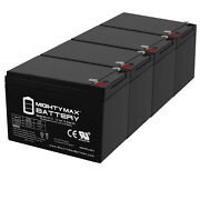 Mighty Max 12v 15ah F2 Battery Replacement For Hummingbird Fish Finder - 4 Pack