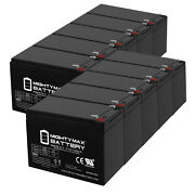 Mighty Max 12v 15ah F2 Battery Replacement For Hummingbird Fish Finder - 10 Pack