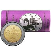 Slovenia Commemorative Coin Special Coins Roll 2011 St Franc Stane Rozman