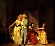 The Young Philosopher Love Sweetheart Kids 1790 French Painting By Boilly Repro