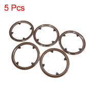 5pcs Plastic Brown Chain Wheel Cover Guard Crankset Protector For Bike Bicycle