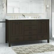 Laranne Contemporary 60 Wood Bathroom Vanity Counter Top Not Included