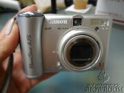 Used And Untested - Canon Powershot A75 Aiaf 3.2mp Pc1202 Parts Or Repairs Only