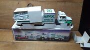 Hess 1988toy Truck And Racer New In Box Case Fresh Great Truck