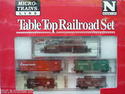 Micro Trains Tabletop Set N Scale Atlas Gp 7 Engine Canadian Pacific 8411 Cp