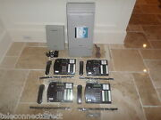 Nortel Norstar Mics Office Phone System 4 T7316 Phones Caller Id + Voicemail