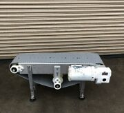 """12"""" X 4' Long Stainless Conveyor 2, Food Conveying"""