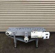 """12"""" X 4' Long Stainless Conveyor 1, Food Conveying"""