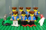 Lego Assorted Pirates Minifig With Weaponssnake Parrot Owl Minifigures
