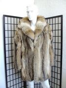 Brand New Top Quality Coyote Fur Jacket Coat Men Man Size All