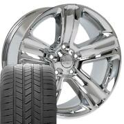 Oew Fits 20x9 Chrome Ram Wheels And Goodyear Tires 20 Rims Dodge