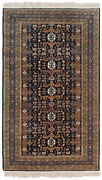 Rra 6x9 5and0396x8and0397 Traditional Perepedil Design Navy Blue Oriental Rug 35412