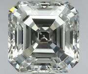 Flawless Clarity-0.52 Ct Asscher Cut Certified Loose Diamond-wholesale Prices