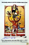 Bolo Yeung Autographed Enter The Dragon Bruce Lee 11x17 Movie Poster Asi Proof