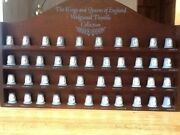 Wedgwood The King And Queens Of England Collection Thimble