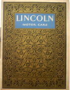1925 Lincoln Motor Cars Second Edition Original Prestige Sales Brochure And Prices