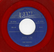 Classic Vocal Group Doowop-crows-rama 30-miss You/i Really Really Love You-red