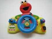 Fisher-price Sesame Street Giggle 'n Go Driver - Elmo Discontinued