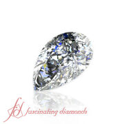 Wholesale Prices - Si2 Clarity - 0.78 Carat Pear Shaped Certified Loose Diamond