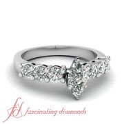 .80 Ct Marquise Very Good Cut Diamond Engagement Rings For Women Si2-e Color Gia