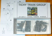 Tichy Train Group N Scale 2601-2 2 Signal Towers Kit Plastic Kits