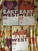 East Of West 6-8 Image Comic Book Lot 2013 Vf Cond Modern Age 1st Print
