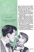 Jerry Mahoney 1955 Paul Winchell The Man Behind The Dummy Ventriloquism