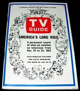 John F Kennedy 1963 Death And Funeral Tv Guide 50 Photos Record November 22 - 25
