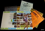 Salemtowne Oregon Ca 1975 Real Estate Agent Folder Home Styles Map And Prices