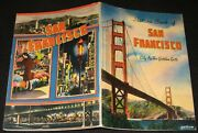 San Francisco 1947 Picture Book City By The Golden Gate Wharf Hotels Chinatown