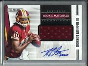Robert Griffin Iii 2012 Panini Rands Autograph Game Used Jersey Rookie 017/499